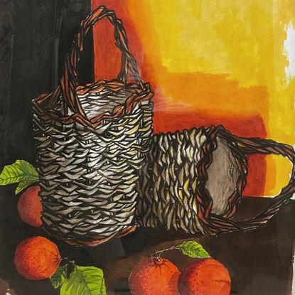 Immagine di Cesti e arance (opera unica)