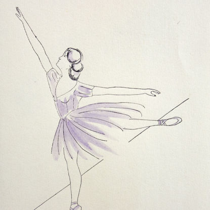 Immagine di Ballerina 01 (Carla Fracci)