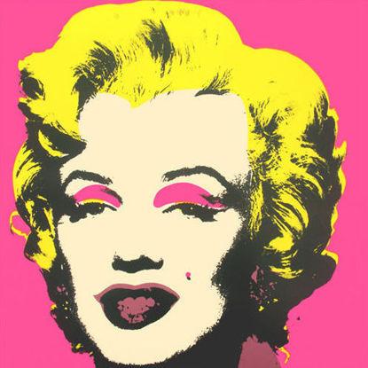 Immagine di Marilyn Monroe (fucsia)
