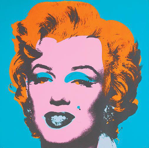 Immagine di Marilyn Monroe (argento)