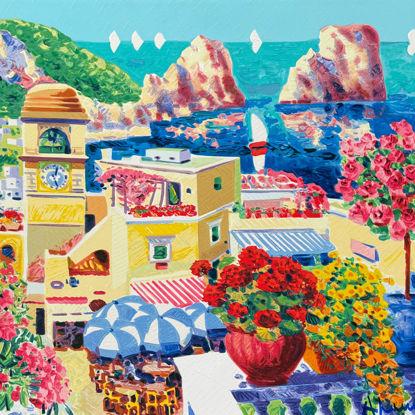 Immagine di Tra sogno e realtà Capri piazzetta